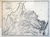 Image of The State of Virginia from the Best Authorities, facsmilie of 1796 map - 2015/07.0826