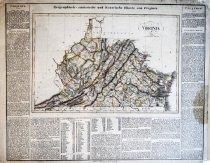 Image of Historische charte von Virginia, 1828, hand colored - 2015/07.0826