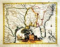 Image of Carta Geographica della Florida nell America Settentrionale, 1750, hand-colored - 2015/07.0826