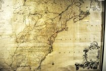 Image of Map of British and French Dominions in North America, 1755, hand-colored 1st edition - 2015/07.0826