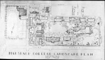 Image of Map showing Marshall Coillege campus with proposed buildings, 1947 -