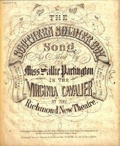 "Image of Cover: ""The southern soldier boy"""
