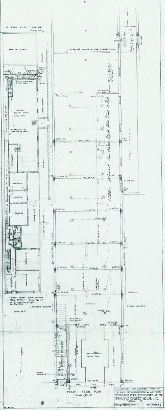Dempwolf Architectural Drawings Collection - Gehleys Carpet House