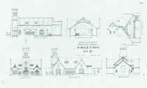 Image of Dempwolf Architectural Drawings Collection - St. John's Protestant Episcopal Church
