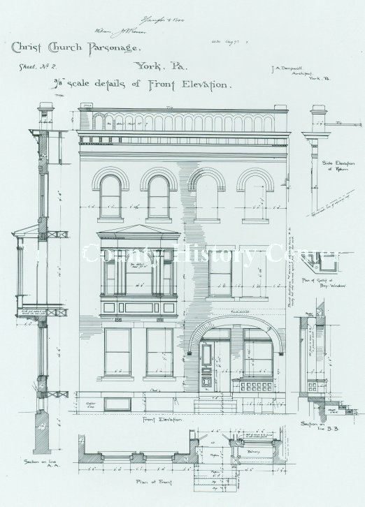 Dempwolf Architectural Drawings Collection - Christ Church
