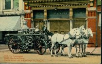 Image of Postcard Collection - York Fire Stations