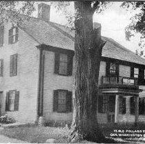 "Image of Postcard - Postcard, ""Ye Old Pollard Tavern A.D. 1750, Gen. Washington Entertained Here, Bedford, Mass."""