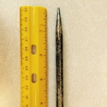 Image of Pencil, Mechanical - Silver-plated Wahl Eversharp Mechanical Pencil - found when 27A Carlisle Road was moved to Harvard by the Leemings.