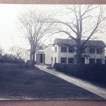 Image of Photograph - Built 1812 by David Rice.  Owned by George and Cora Champney 1919-1970.  Photo early 1900s.