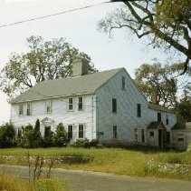Image of Photograph - Former homestead on Hartwell road, demolished for Hanscom Field.