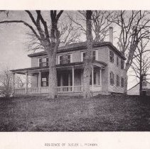 Image of Photograph - Dudley L. Pickman House on Chestnut Avenue (later named Dudley Road) 228 Dudley Road  From A.E. Brown's History of Bedford, Memorial Edition.