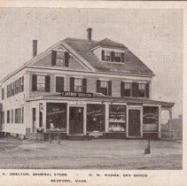 Image of Postcard - Postcard of the Skelton Gen. Store, currently #49 the Great Road.