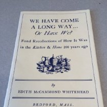 Image of We Have Come a Long Way... Or Have We? - Edith McCammond Whitehead