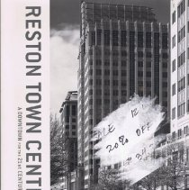 Image of Book by Alan Ward all about the development of Reston Town Center and its impact of the town of Reston. - book