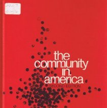 Image of Book by Roland L. Warren all about American communities and their development and change over time. - book