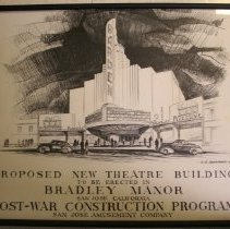 Image of Steve Levin Collection - Proposed Theater Rendering