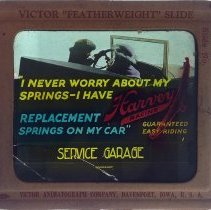 Image of Dwight Cleveland Collection - I Never Worry About My Springs - I Have - Harvey Racine - Service Garage