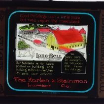Image of Dwight Cleveland Collection - Longbell The Mark on Quality Lumber - Karlen & Steinman Lumber Co.