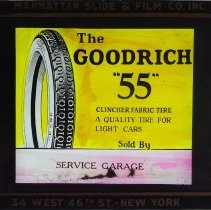 Image of Dwight Cleveland Collection - Goodrich '55' Tire - Service Garage