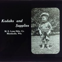 Image of Dwight Cleveland Collection - Kodaks and Supplies - Hoyt's Drug Store