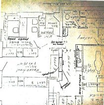 Image of Borough Permits - Donald Glassman Wyncote House, Wyncote 230 N. Main Street Doylestown, Pa Permit  67-49 Inspector: Warren L. Leister  North Wall; unit 3; self A; box 3 More documentation may be available at DHS
