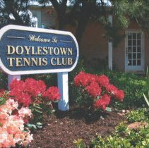 "Image of Hardcover book, 8x11, ""Welcome to Doylestown Tennis Club"""
