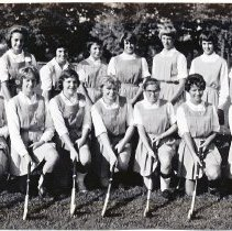 Image of Central Bucks High School 1964 women's field hockey team