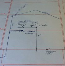 Image of Borough Permits - M. A. Rufe, Est.  71 E. Ashland St.  Doylestown, Pa.  Plumbing Work on 2nd Floor For Our Lady of Mt. Carmel Rectory  E. State St.  Doylestown, Pa.   Plumbing Permit No. #'71-34 Plumbing Inspector: Charles A. Kollo  North Wall; unit 3; self A; box 12 More documentation may be available at DHS