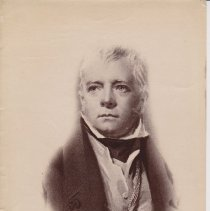 Image of Geil - photograph of a picture of a man, wearing eighteenth-century clothing. No notes indicating who the man is.  Located in folder: Misc.: Pictures - Sistine Chapel, others.