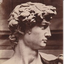 Image of Geil - photograph of a detail of michelangelo's david.   Located in folder: Misc.: Pictures - Sistine Chapel, others.