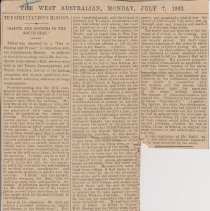 """Image of Geil - """"The simultaneous mission: 'saints and sinners in the south seas'"""" The West Australian, July 7, 1902"""