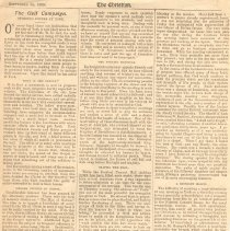 """Image of Geil - """"the geil campaign. stirring scenes at york"""" The Christian, York, September 28, 1905  note: 2 copies: photocopy and original"""