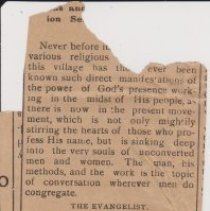 Image of Geil - note: fragment, incomplete, unknown date, unknown newspaper, unknown place