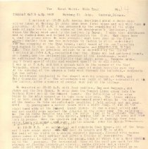Image of Geil - GWWT  Merdang St. John Sarawak, Borneo sheet 14  Pencil and pen notes Pen edits
