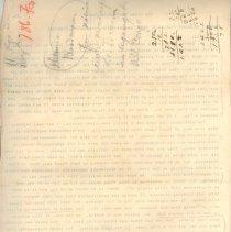Image of Geil - GWWT   Handwritten notes