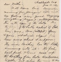 Image of Geil - To Elizabeth Seese, from William Edgar Geil, Ambleside, England, June 12, 1894