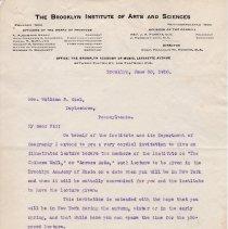 Image of Geil - From Franklin W. Hooper, To  William Edgar Geil, Brooklyn, New York, June 30, 1910