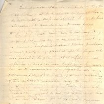 """Image of Geil - handwritten notes on religion  note: located in folder """"miscellaneous (undated - early?) notes, jottings, writings -"""""""
