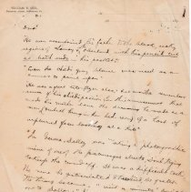 """Image of Geil - handwritten notes with various quotations and anecdotes """"he even accompanied his father to thebleak, rocky region of sanay and to oberland, with his pencil cut at both ends in his pocket""""  note: located in folder """"hand-written notes - for sermons? - or books - or speeches (8)"""""""