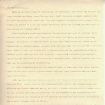 "Image of Geil - three typed pages, ""the new pacific""