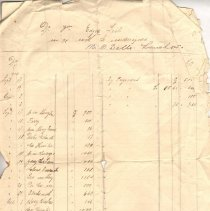 Image of Geil - receipt, travel expenses in China, with Mr. O. Dells. Langchow, China, October 5, 1910  note: located in folder: Misc.: Receipts