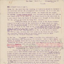 """Image of Geil - typed draft, five pgs: """"sung dynast roll 2. leaf 5.""""   june 30, 1919  Located in folder: The Sacred 5: chap. 4 """"hua shan"""" misc. notes + ms. pgs."""