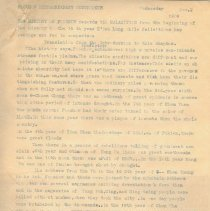 Image of Geil - Foochow extraordinary occurances   Located in folder: Journal: Foochow, Oct. 24-Nov.2 1909