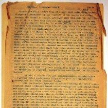 Image of Geil - Canton Nov. 14, 1909  has one page  Located in folder: Journal: Canton, Nov.8 - Nov. 14, 1909