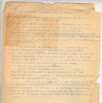"""Image of Geil - Typewritten manuscript on Foochow   Located in folder: """"18 Capitals: Ms. Material chap. 2"""""""