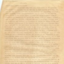 """Image of Geil - typed page with handwritten notes, """"kweiyang. remarkable answer to prayer by thos. windsor""""  Located in folder: 18 Capitals: Chap. 5 - Manuscript Drafts"""