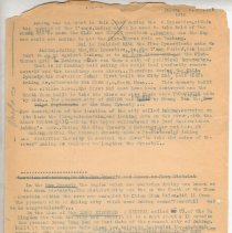 """Image of Geil - one page of typed notes on Anking   Located in folder: """"18 Capitals: Chap. 9 - Ms. Drafts"""""""