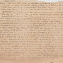 """Image of Geil - one typed pg, titled: """"shan tung""""  Located in folder: 18 Capitals: Chap. 18 - Notes + MS. Material"""