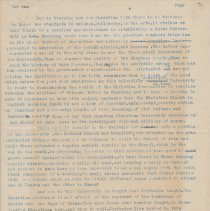 """Image of Geil - four typed pgs, titled """"tsi nan""""   Located in folder: 18 Capitals: Chap. 18 - Notes + MS. Material"""