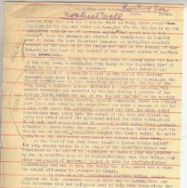 """Image of Geil - six typed journal pages, titled """"To Gumbum and Return"""" September 1908  numbered Geil.8.0314a-f  folder: The Great Wall Journey June - November 1908 (journal pages)"""
